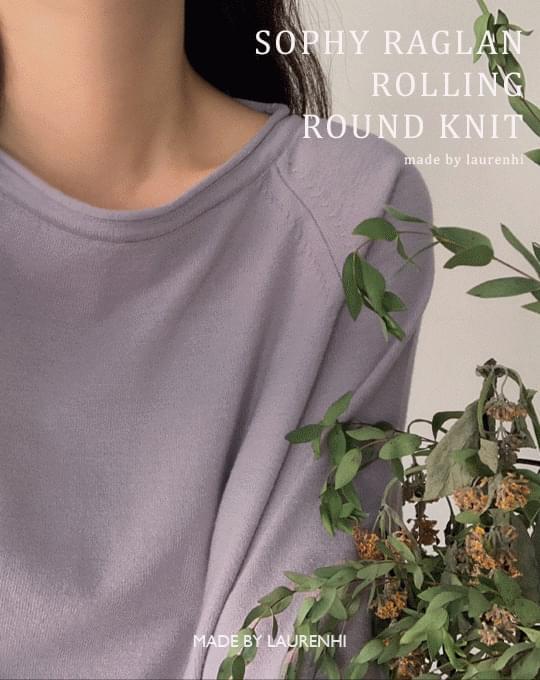 Sophie Reglan Rolling Round Knitwear - 4 color