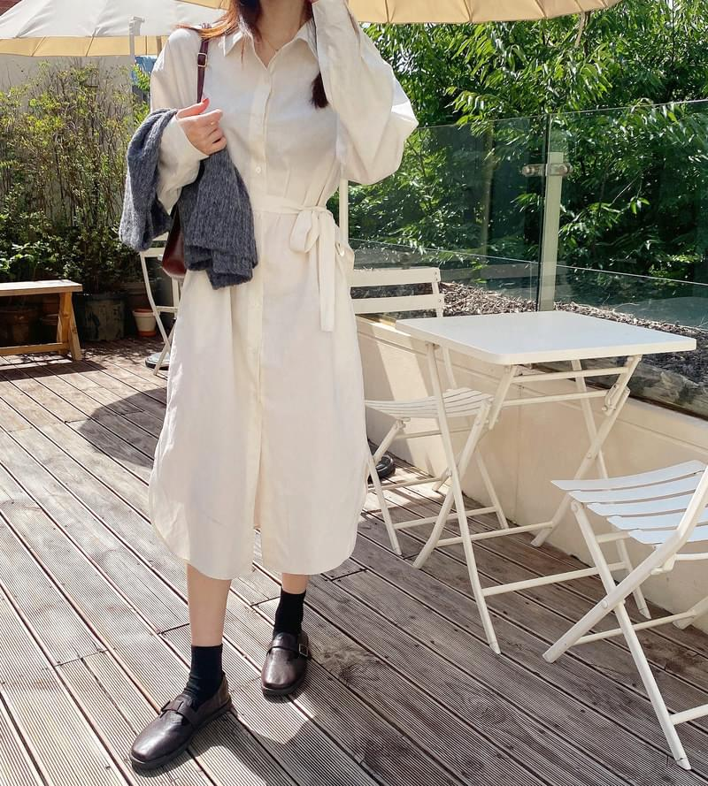 vanilla shirt Dress