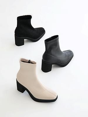Satisfaction Shoes Heirloom Socks Ankle Boots 8cm