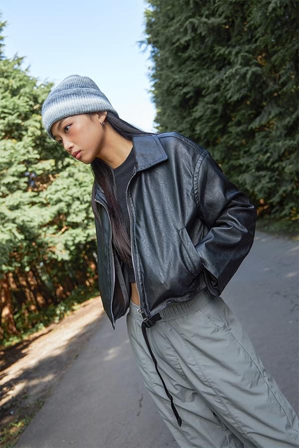 Hughes Run Basic Leather Jacket