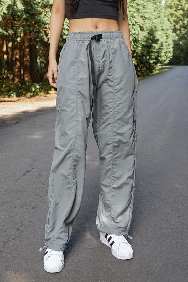 Tanez Nylon Belt Pants