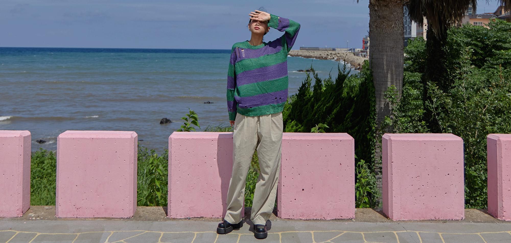 Four Way Striped Knitwear