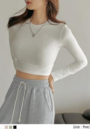 Slim Cropped T-Shirt