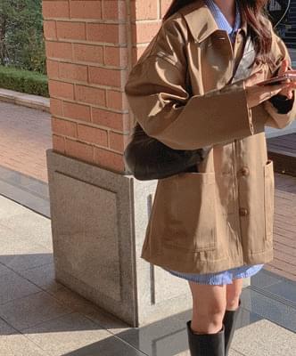 Horad Half Trench Coat