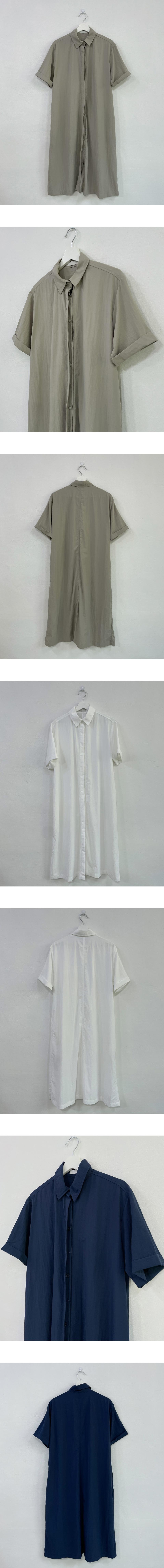 sheer hidden long shirt Dress
