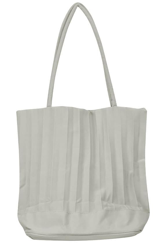 color crease shoulder bag