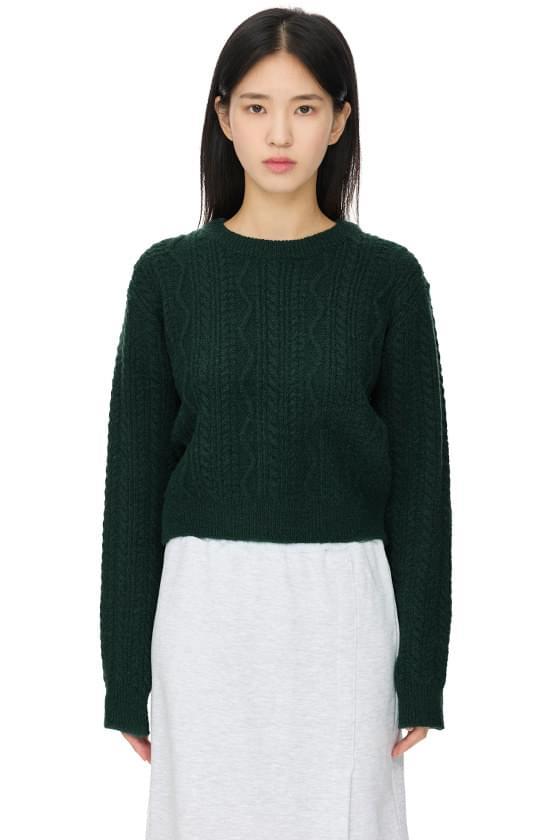 Sony Twist Crew Neck Knitwear