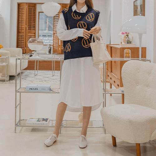 mono shirt long Dress