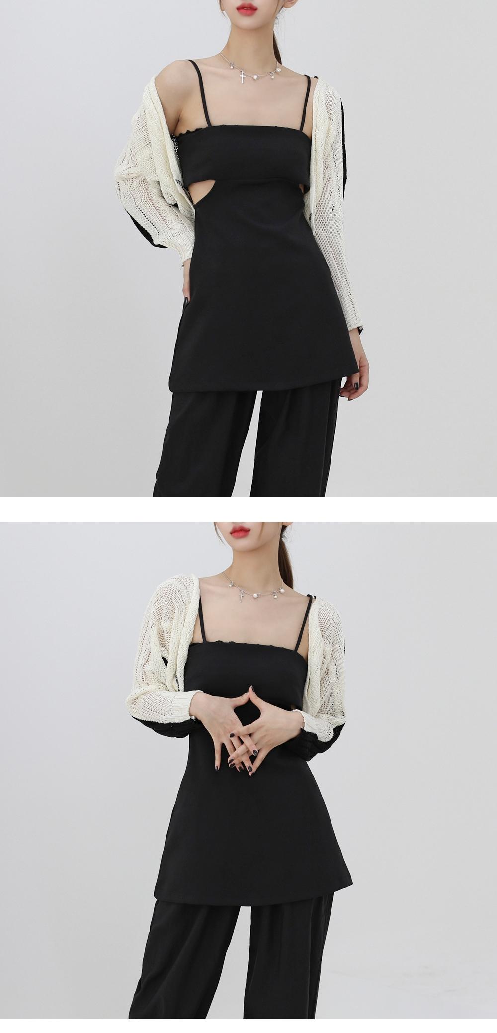 toner color scheme bolero cardigan