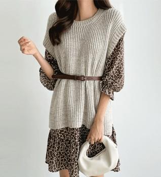 Basic Knitwear Vest #109249