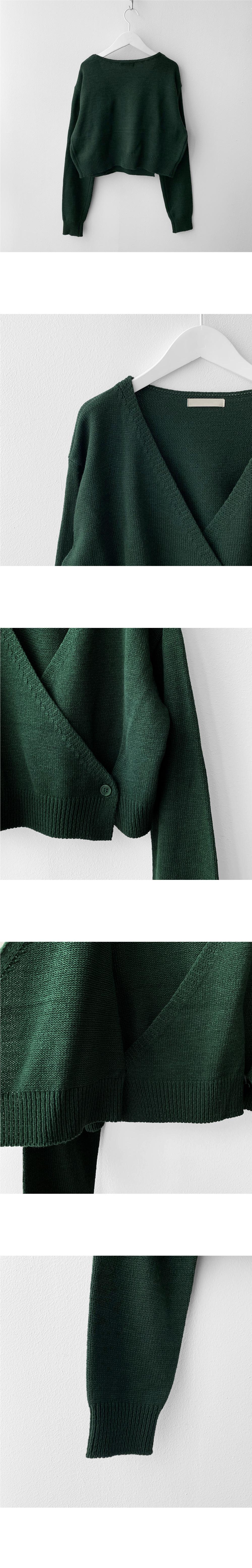 Ronnie Wrap Knitwear Cardigan