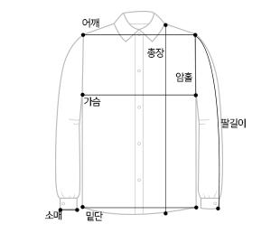 ベーシックコットンシャツ