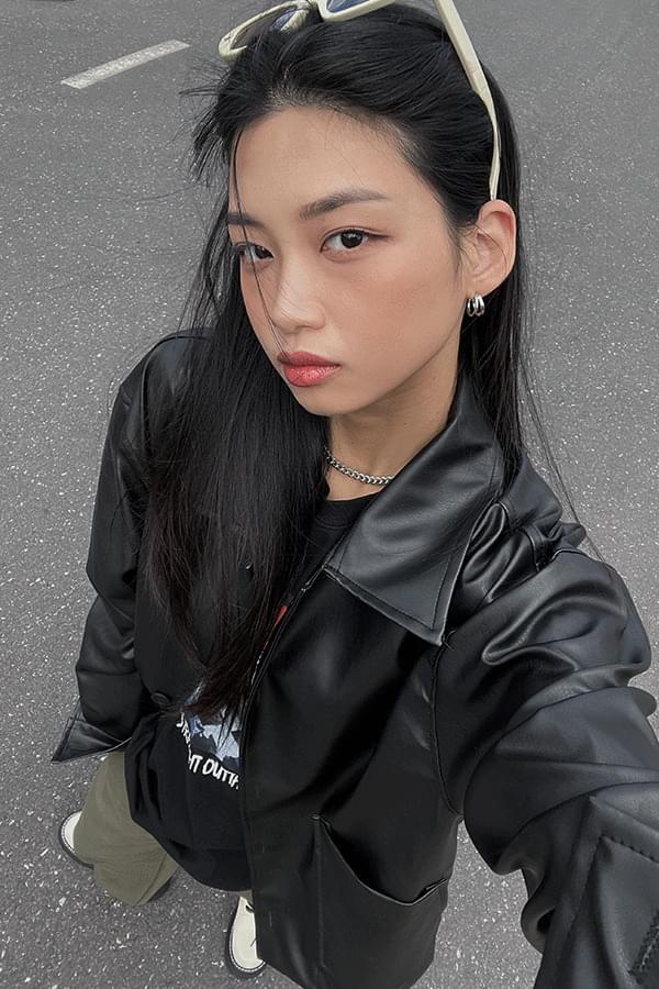 Armand Pocket Leather Jacket
