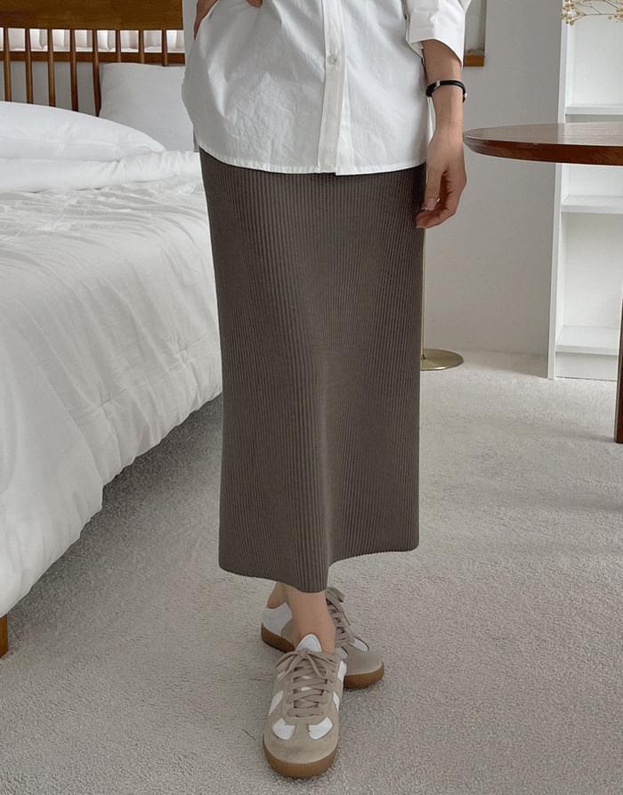 Alpha Ribbed Skirt