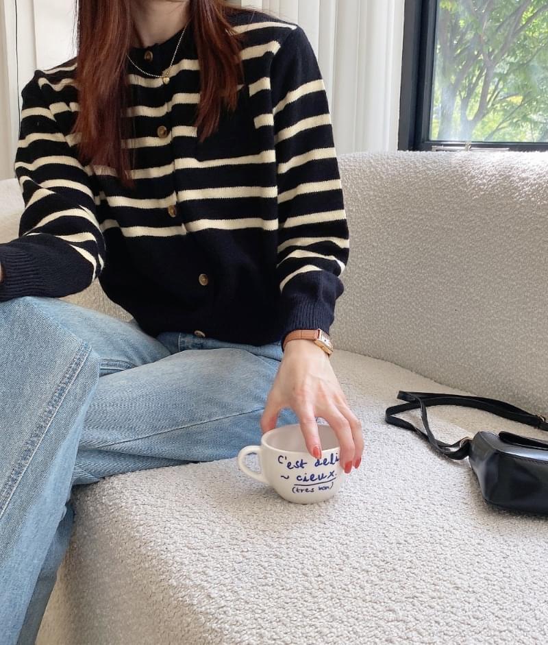 Foodie Striped Knitwear