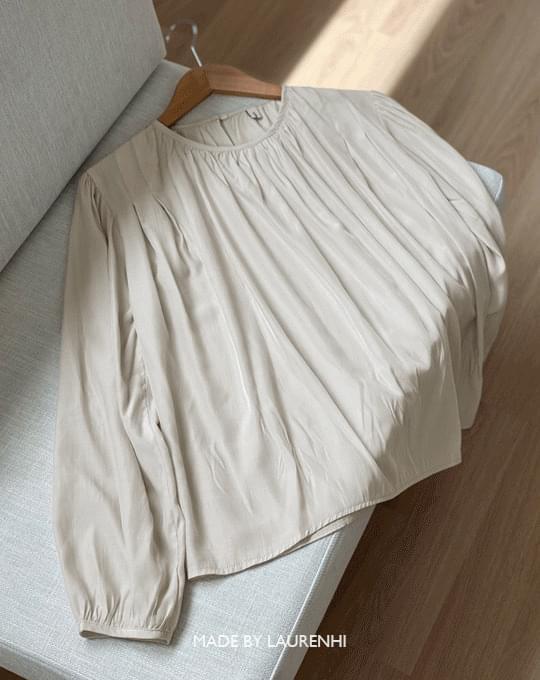 Moel's Pintuck Shirring Blouse - 3 color
