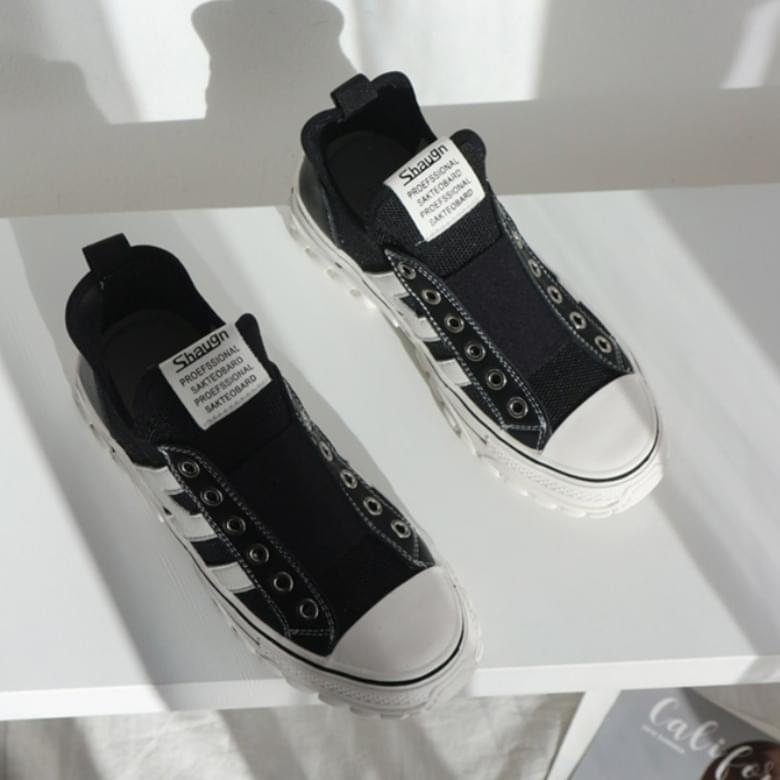 Leader Combi Foot Comfortable Banding Sneakers
