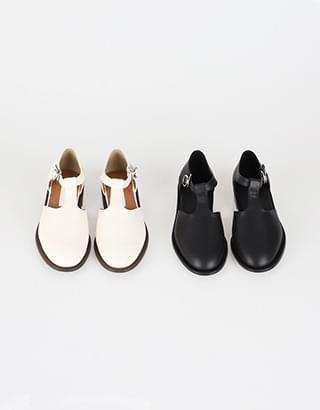 Dorothy T-strap loafers