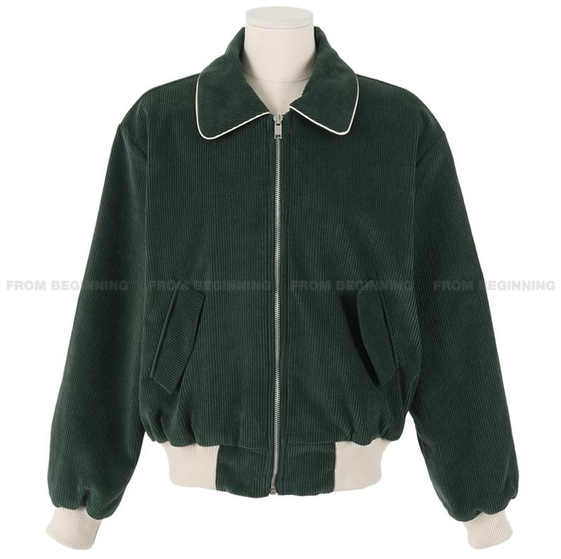 Retro corduroy blouson Jacket