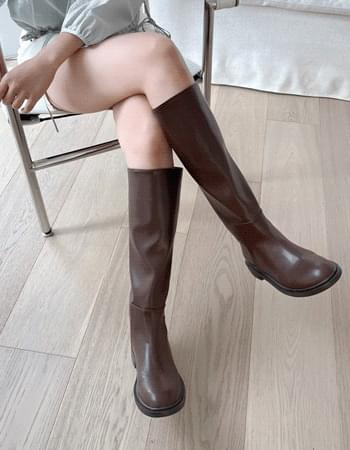 circle line simple long boots