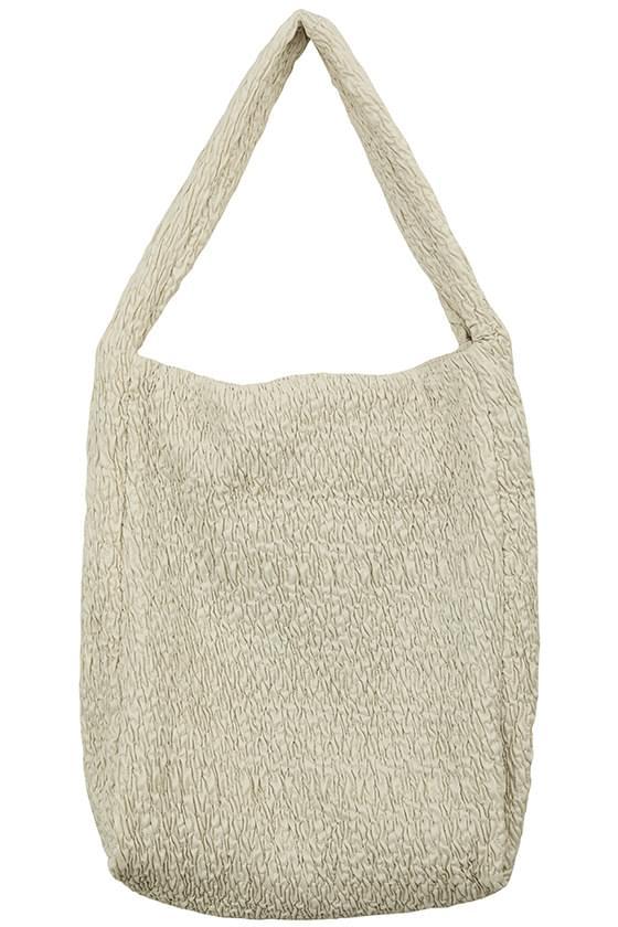 Puff Wrinkle Big Shoulder Bag