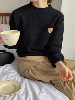 Teddy Bear Round Knitwear