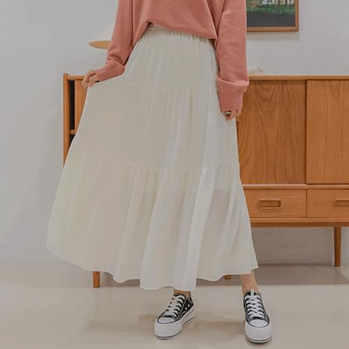 monts cancan long skirt