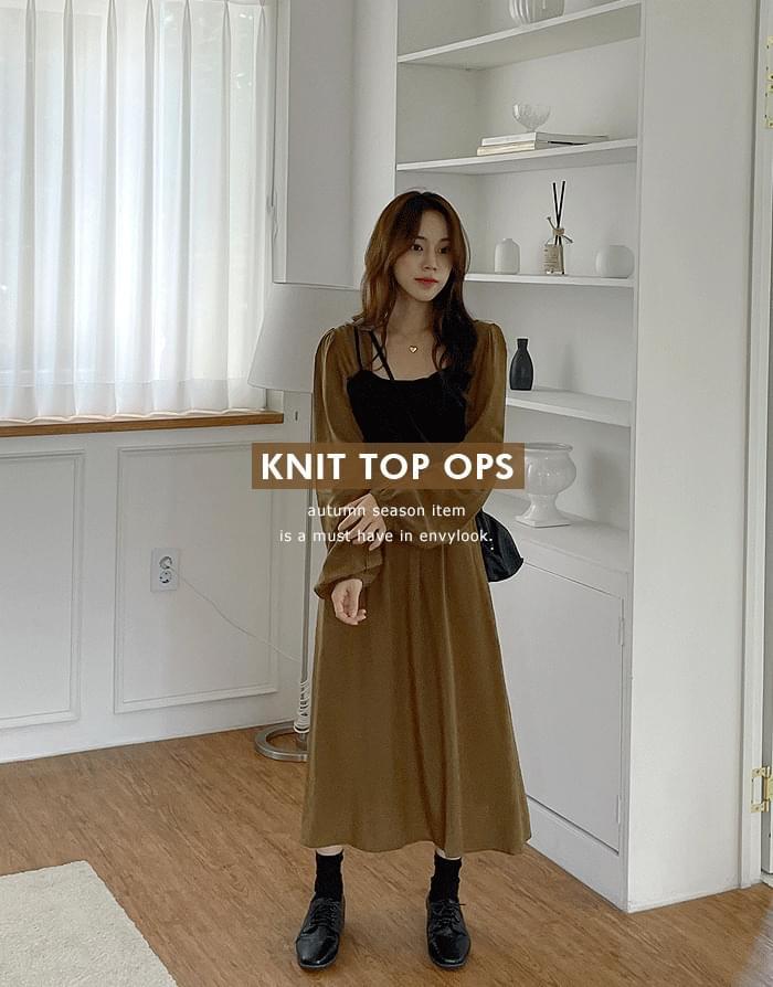 In The Mood Knitwear Top Dress