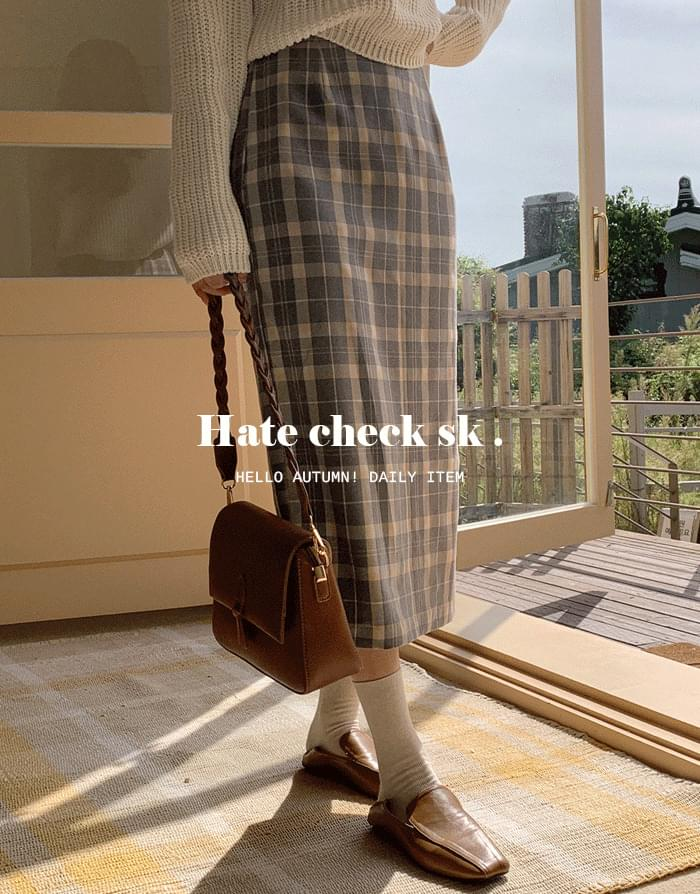 Hate Check Skirt
