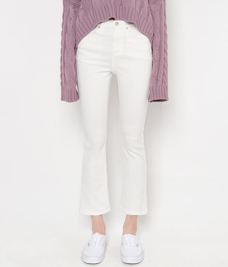 ESSAYAnkle-Grazer Bootcut Pants