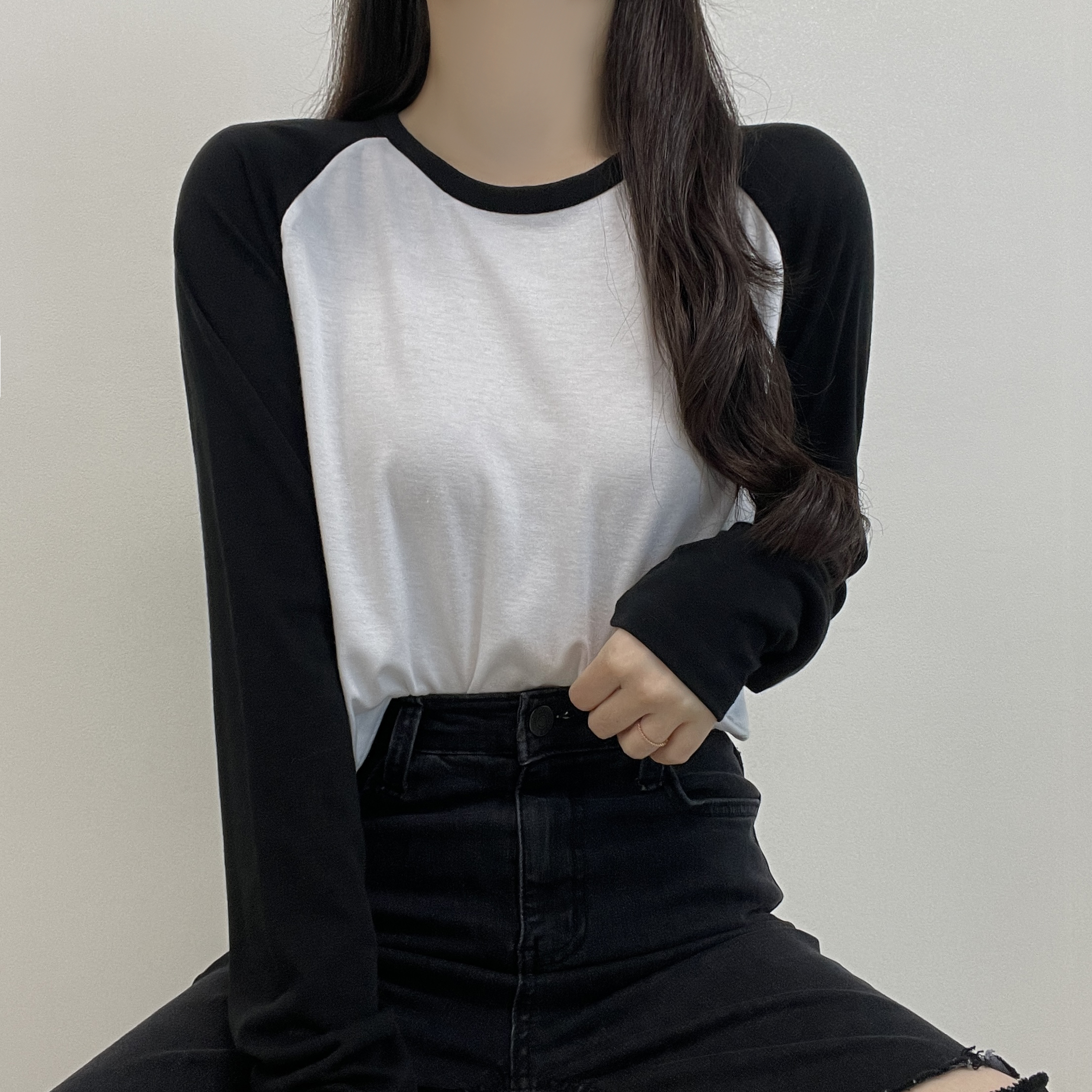 tee nagrang long sleeve t-shirt