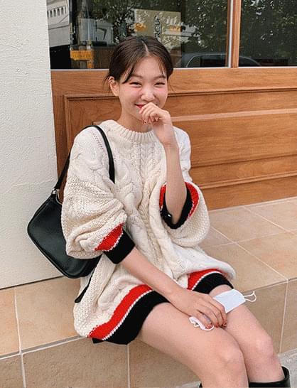 Marche Twisted Knitwear Dress