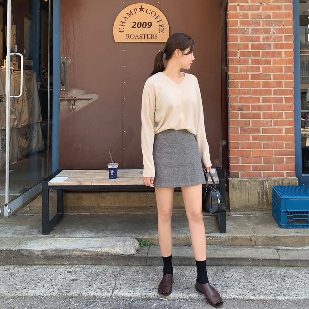 Night Mini Skirt