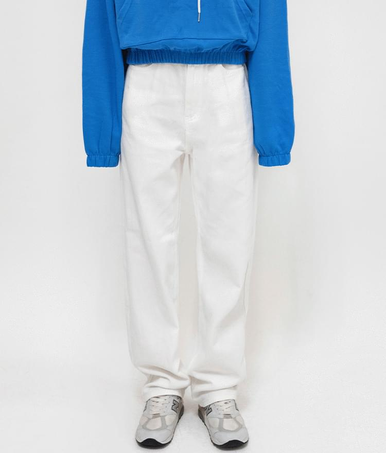 ESSAYBasic Straight Cut Pants