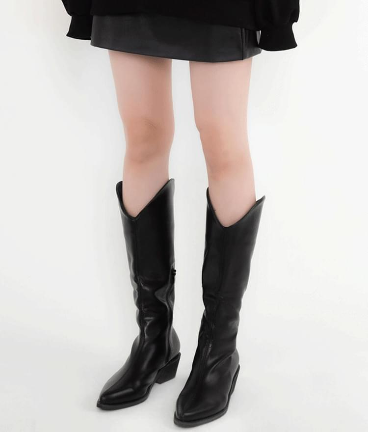 Side Zip Tall Boots