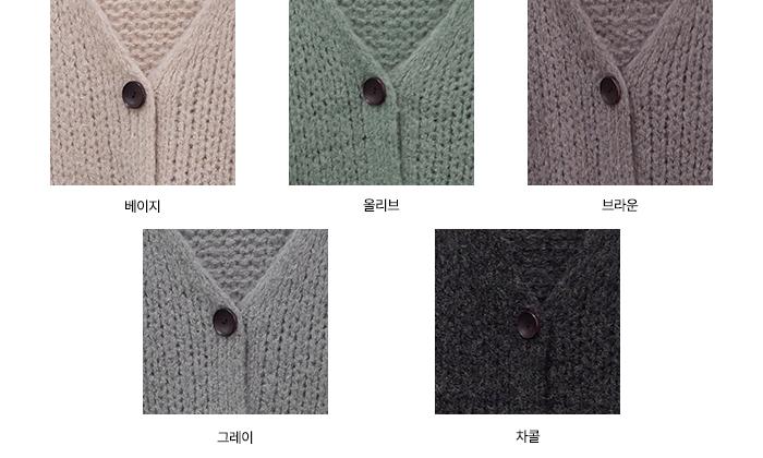 Rogeun Loose-fit Knitwear Cardigan