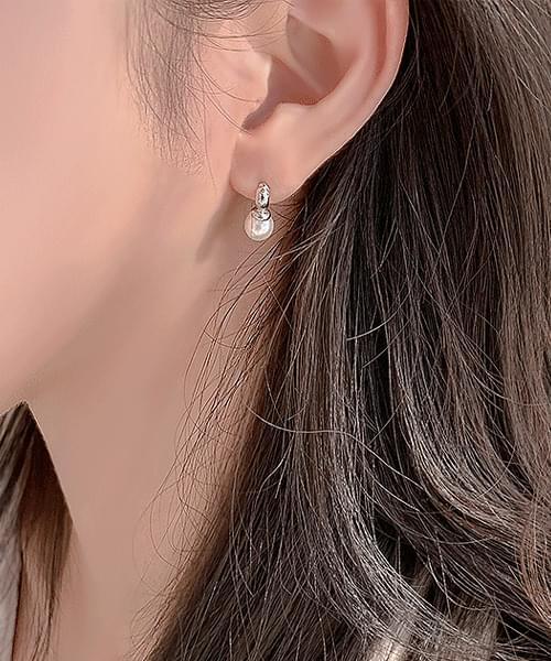 Yumi Pearl Earrings Earrings