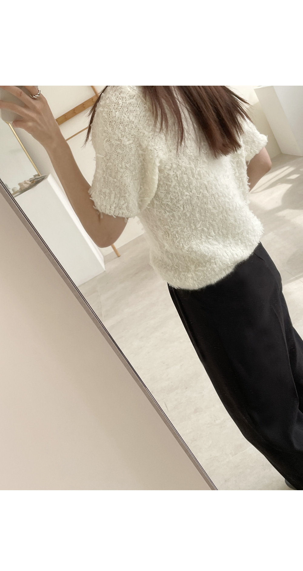 Bookle Short Sleeve Knitwear