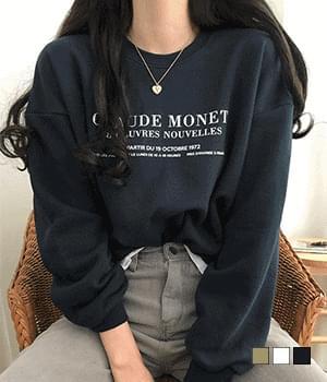Claude Lettering Sweatshirt
