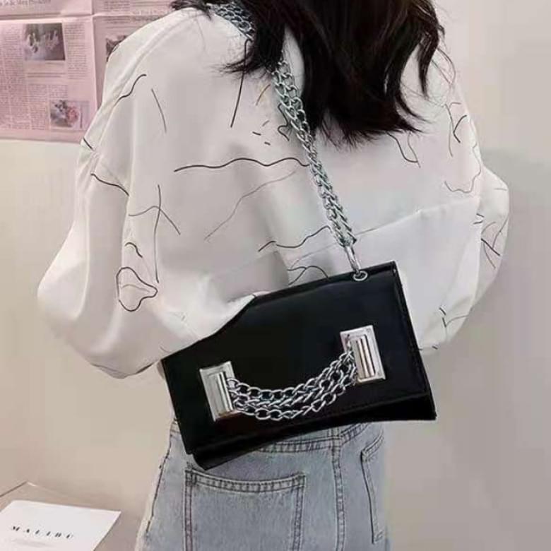 Lini Fashion Chain Cross Shoulder Bag