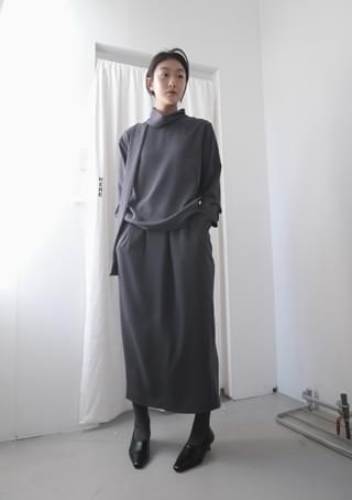 atmospheric modern set - skirt
