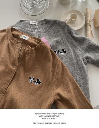 Mickey Deli Wool Knitwear Cardigan