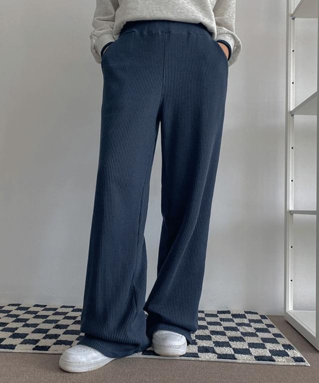 molsen training waffle banding trousers
