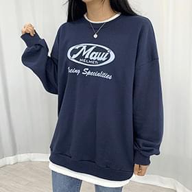 Rye Lettering Sweatshirt