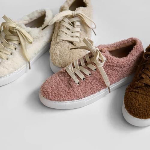 Nadia fleece trainers