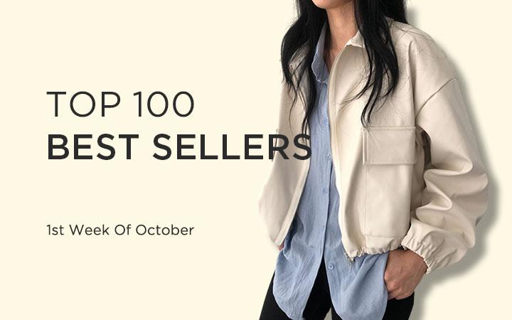 TOP 100 BEST SELLERS - 1st Week Of October