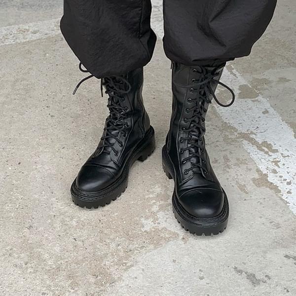 Belgian*Strap Worker Boots