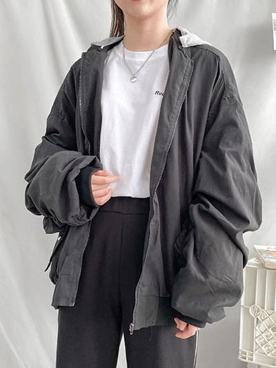 Pickup Shirring Air Jacket