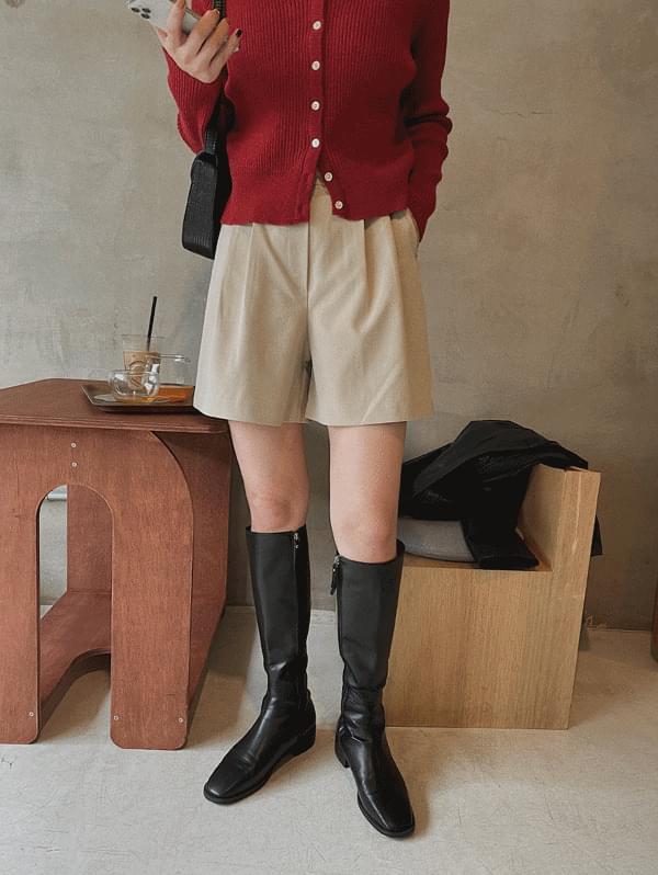 D'or Cotton Half Pants - 3color
