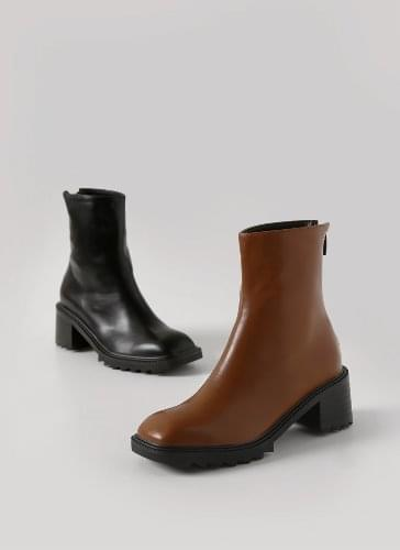 Tenme Oversole Square Ankle Boots BSLTS4d605